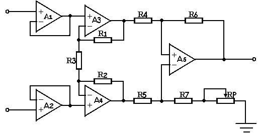 方案(二)利用ad620来设计放大电路