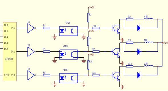 单片机控制步进电动机